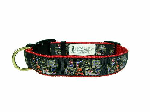 25mm Wide Star Wars Dog Collar