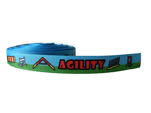 19mm Wide Agility Dog Collar