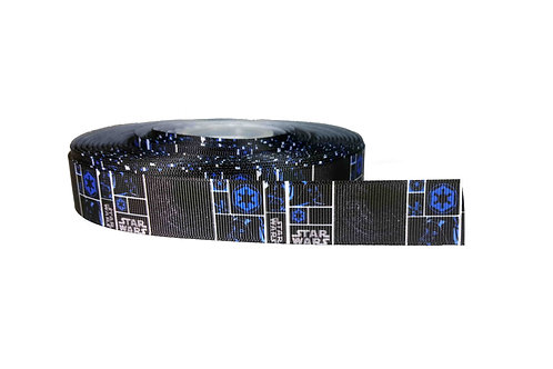 25mm Wide Star Wars Blue/Black Lead