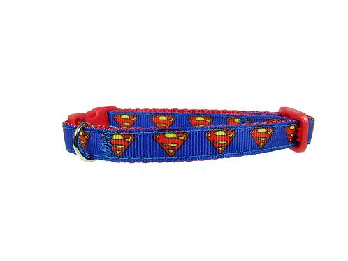 Superman Cat Collar