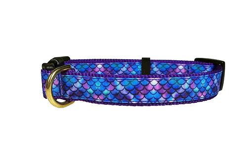 19mm Wide Purple Mermaid Collar