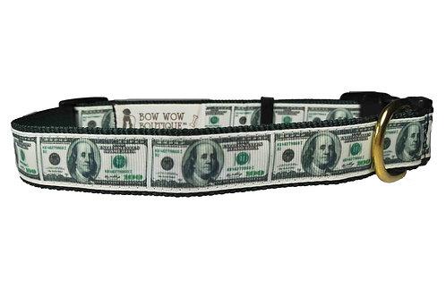 25mm Wide Cash Dog Collar