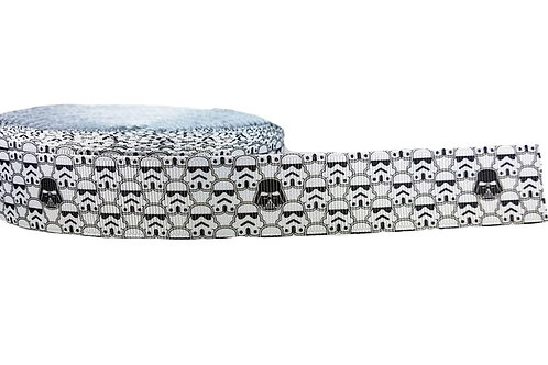 25mm Wide Darth Vader & his Stormtroopers Double Ended Lead