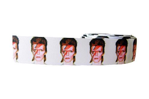 25mm Wide Ziggy Stardust Dog Collar