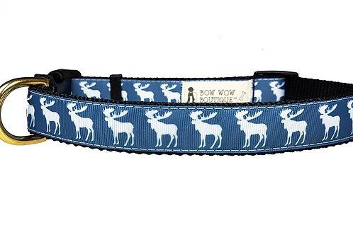 25mm Wide Moose Dog Collar