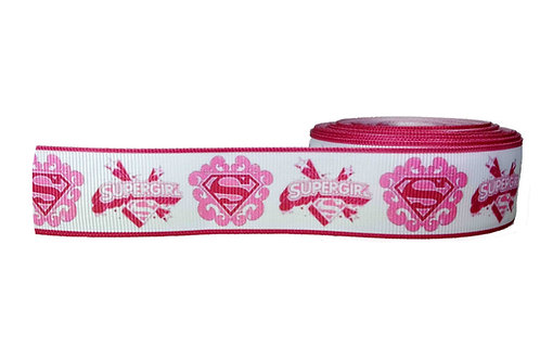 25mm Wide Supergirl Martingale Collar