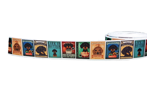 19mm Wide Dachshund Posters Lead