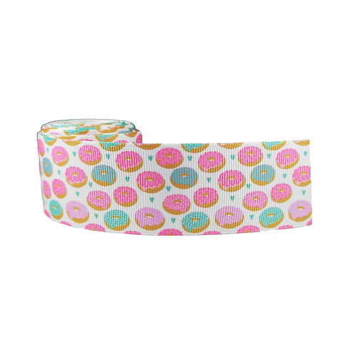 38mm Wide Donuts Dog Collar
