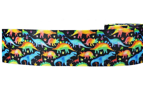 38mm Wide Dinosaurs Martingale Collar