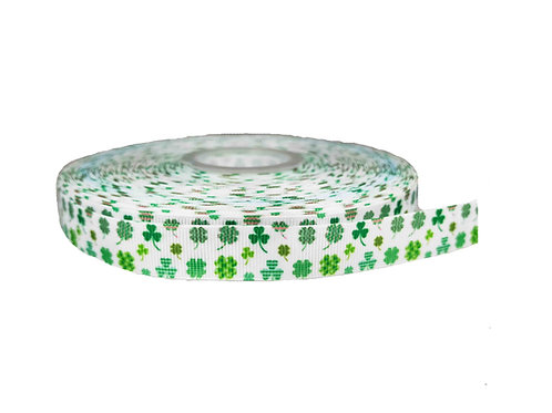 19mm Wide Irish Four Leaf Clover Lead