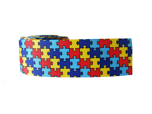 38mm Wide Jigsaw Martingale Collar