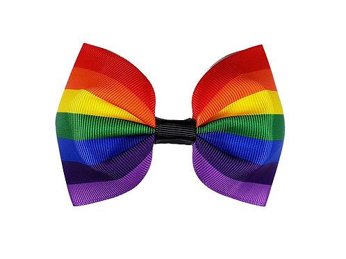 Large Rainbow Hairbow