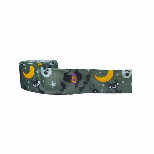 25mm Wide Halloween Dog Collar