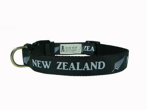 25mm Wide New Zealand Dog Collar