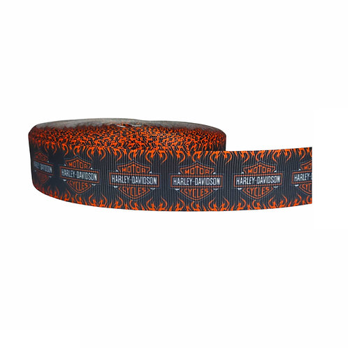 25mm Wide Harley Davidson Dog Collar