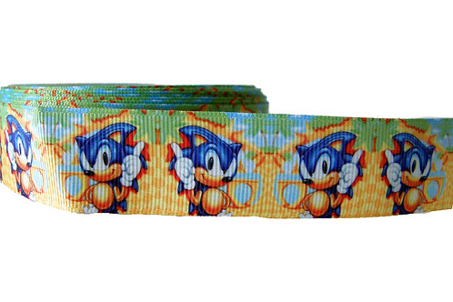 25mm Wide Sonic the Hedgehog Lead