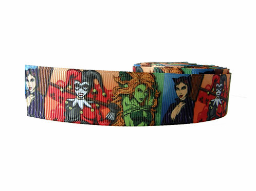 25mm Wide Gotham City Sirens Martingale Collar