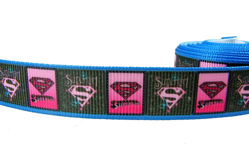19mm Wide Supergirl Martingale Collar
