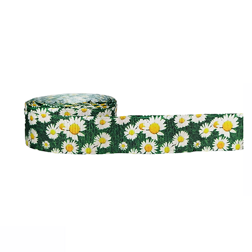 25mm Wide Field of Daisies Double Ended Lead