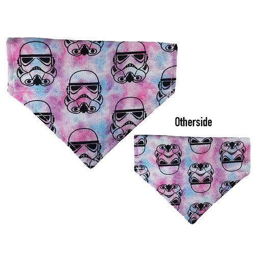 Small Stormtrooper Tie Dye Bandana