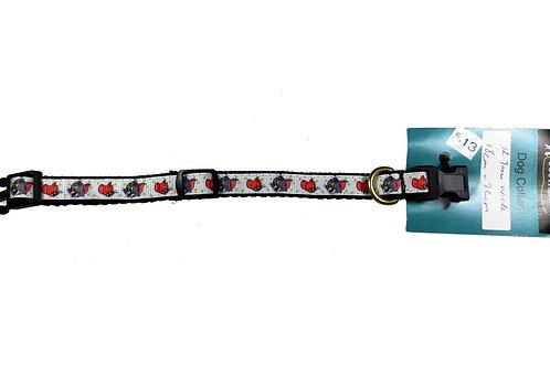 12.7mm Wide Tom & Jerry Dog Collar