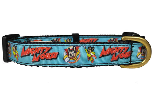 19mm Wide Mighty Mouse Dog Collar