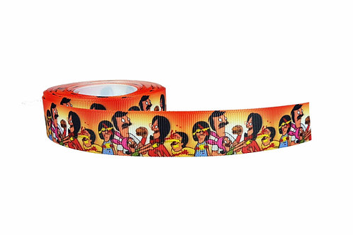 25mm Wide Bobs Burgers Food Fight Double Ended Lead