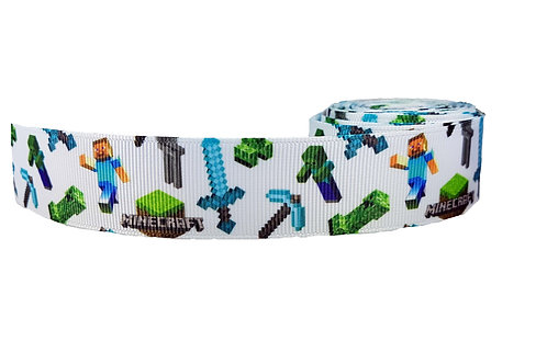 25mm Wide Minecraft Martingale Collar