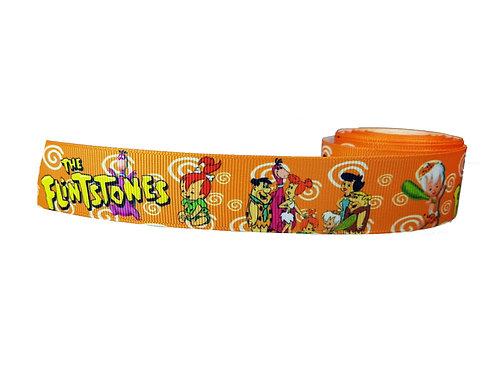 25mm Wide Flintstones Dog Collar