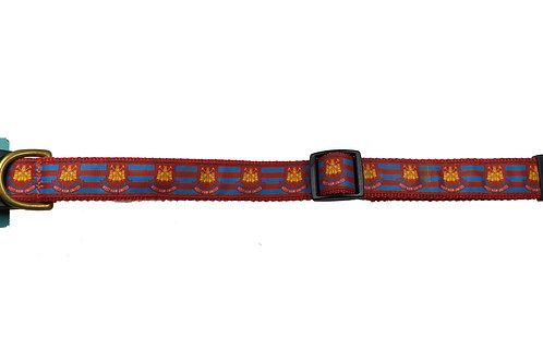 25mm Wide West Ham United Dog Collar