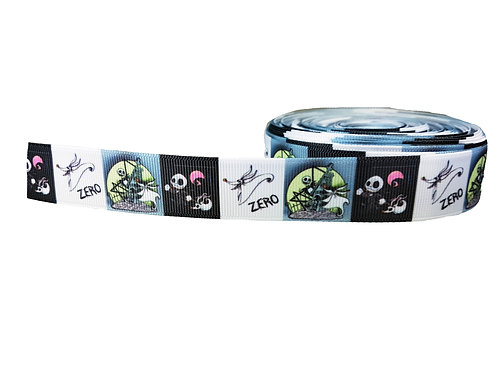 25mm Wide Zero (Nightmare before Xmas) Double Ended Lead