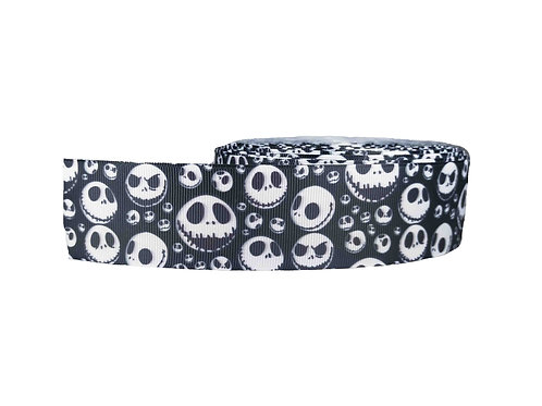 38mm Wide Jack Skellington Martingale Collar