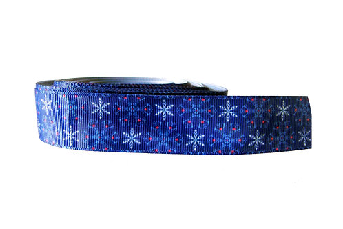 25mm Wide Blue Ice Double Ended Lead