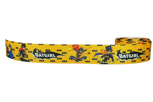 25mm Wide Batgirl Yellow Double Ended Lead