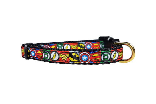 12.7mm Wide Super Hero Icons Collar