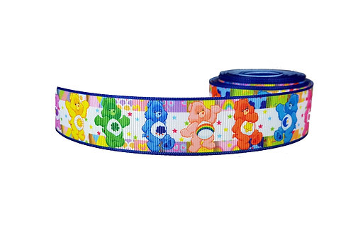 25mm Wide Carebears Double Ended Lead