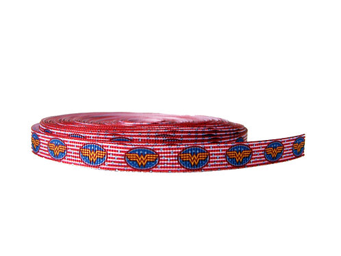 12.7mm Wide Wonder Woman (Red) Double Ended Lead