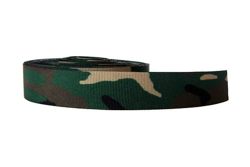25mm Wide Green Camo V2 Martingale Collar