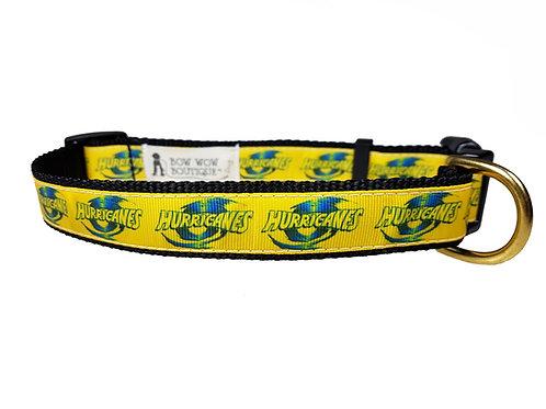 25mm Wide Hurricanes Dog Collar