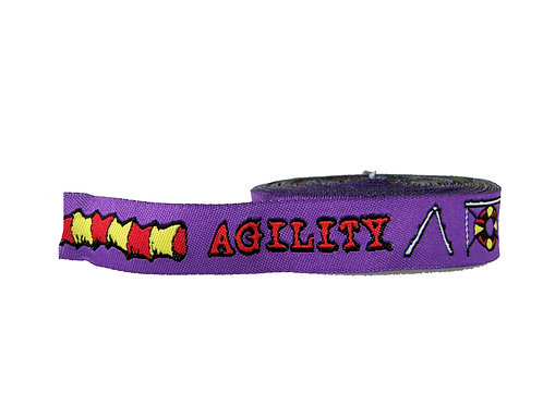 19mm Wide Purple Agility Double Ended Lead