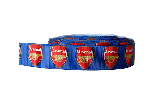 25mm Wide Arsenal FC Dog Collar