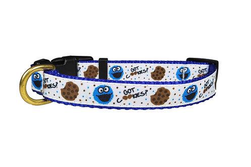 19mm Wide Cookie Monster Collar