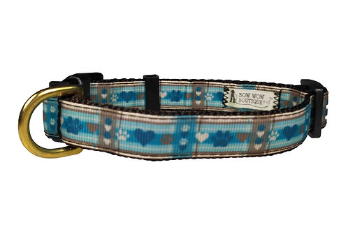 19mm Wide Puppy Picnic Dog Collar