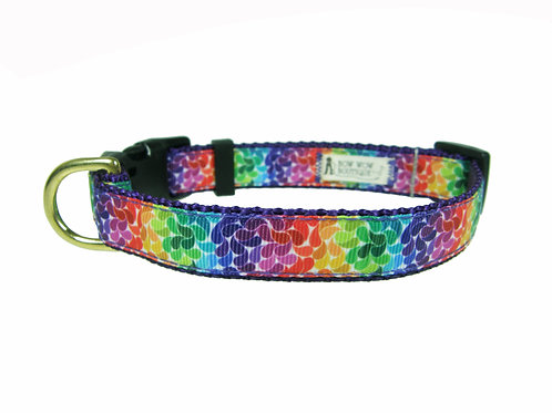 19mm Wide Rainbow Petals Collar
