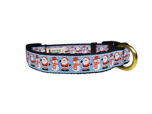 19mm Wide Santa Dog Collar