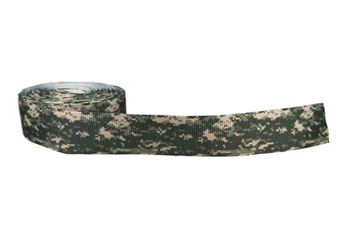 25mm Wide Green Camo Pixelated Martingale Collar