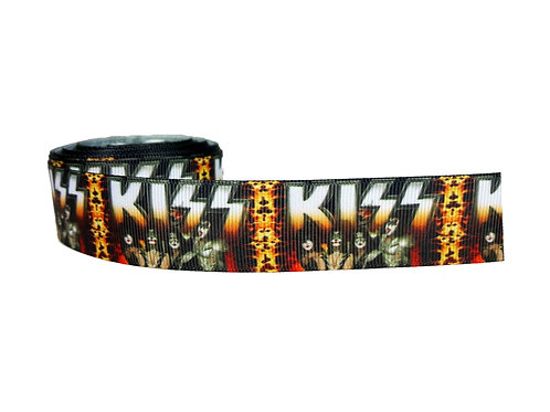 25mm Wide KISS Dog Collar