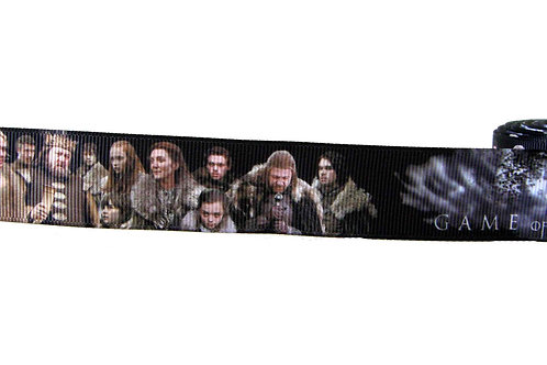 25mm Wide Game of Thrones V3 Dog Collar