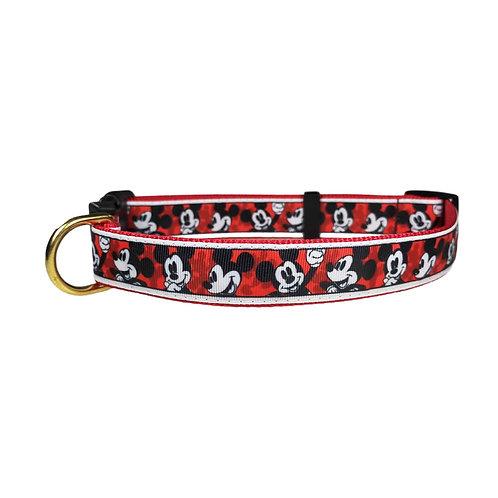 25mm Wide Mickey Dog Collar