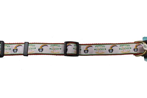 25mm Wide Luck Charm Dog Collar